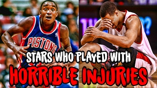 Download 5 NBA Stars Who Played Through HORRIBLE Injuries Video