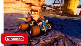 Download Crash Team Racing Nitro-Fueled - Gameplay Trailer - Nintendo Switch Video