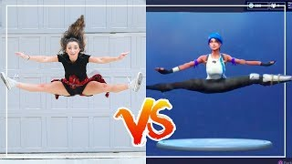 Download FORTNiTE DANCE CHALLENGE in REAL LiFE!! (Ft. The Rybka Twins) Video