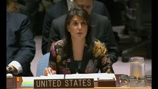 Download YOU will not BELIEVE what UN Ambassador Nikki Haley just said about International Peace and Security Video