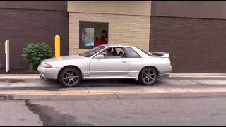 Download Driving a Right-Hand Drive Nissan Skyline GT-R in the United States Video