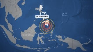 Download A 7.2 MAGNITUDE EARTHQUAKE: Prompting A Tsunami Warning For The Philippines -29 April 2017 Video