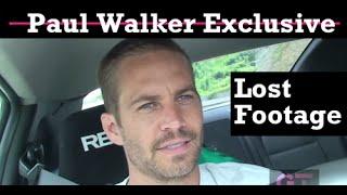 Download Paul Walker - Lost Footage Video