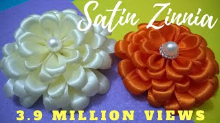 Download D.I.Y. Satin Zinnia Flower - Tutorial | MyInDulzens Video