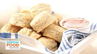 Download Buttermilk Biscuits with Strawberry Butter - Everyday Food with Sarah Carey Video