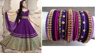 Download Making Silk Thread Bangles To Your Long Churidars Video