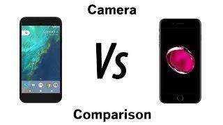 Download Google Pixel XL vs iPhone 7 Plus - Camera Comparison Video