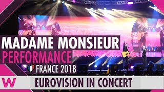 Download Madame Monsieur feat. SuRie ″Mercy″ (France 2018) LIVE @ Eurovision in Concert Video