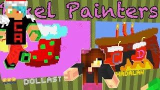 Download Minecraft / Christmas Pixel Painters / Chad Alan VS Dollastic Video