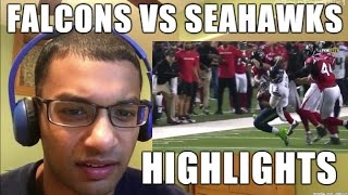 Download Atlanta Falcons VS Seattle Seahawks 1.14.2017 HIGHLIGHTS- NFL Playoffs, Divisional Round (REACTION) Video