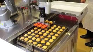 Download ポッポ幕張店に導入されたたこ焼き調理ロボット「ハッピー」(前半) - トラベル Watch Video