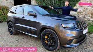 Download Essai Jeep Grand Cherokee Trackhawk - le SUV le plus puissant du monde! - Le Vendeur Automobiles Video