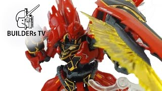 Download RG SINANJU Fast Build Up (RG 시난주 빠른 조립, RG 機動戦士ガンダムUC MSN-06S シナンジュ) Video