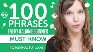 Download 100 Phrases Every Italian Beginner Must-Know Video
