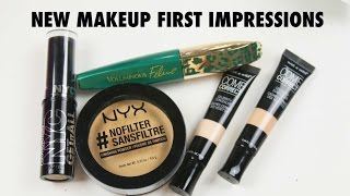 Download NEW DRUGSTORE MAKEUP | First Impressions Video