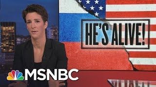 Download More Pieces Of Donald Trump Russia Dossier Check Out   Rachel Maddow   MSNBC Video