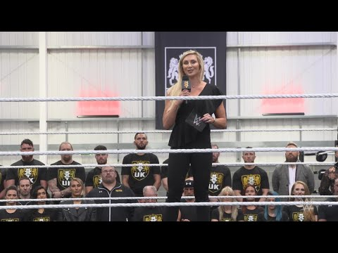 Charlotte Flair shares the benefits of training in the UK Performance Center