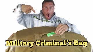 Download MILITARY CRIMINAL BAG I Bought Abandoned Storage Unit Locker Opening Mystery Boxes Storage Wars Video