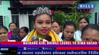 Download Maibang girl brings laurel to Dima Hasao Video
