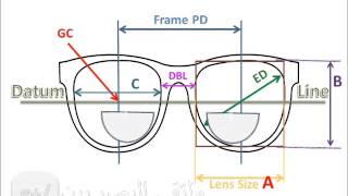 Download قياسات إطار النظارة Frame measurement Video