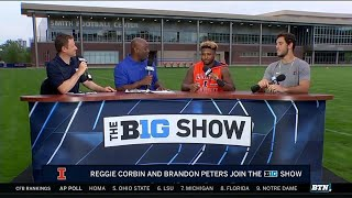 Download Brandon Peters and Reggie Corbin Preview Illini Offense | 2019 BTN Bus Tour | B1G Football Video