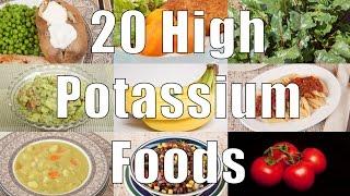 Download 20 High Potassium Foods (700 Calorie Meals) DiTuro Productions Video