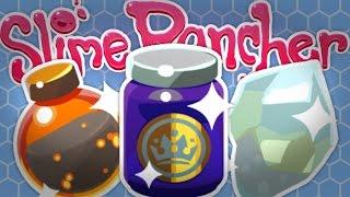 Download STRANGE DIAMOND SLIME WARP - Slime Science Ep 6 - Slime Rancher Gameplay Video