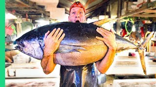 Download Filipino Seafood Tour! The Real King of Tuna in Mindanao! Video