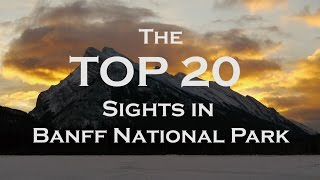 Download The Top 20 Sights in Banff National Park 2018 Video