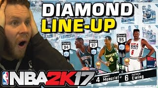 Download ALL DIAMOND LINE-UP!! NBA 2K17 MYTEAM BEST TEAM! Video