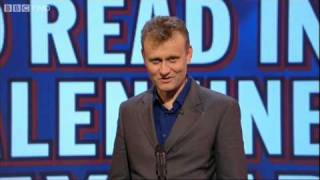 Download Unlikely Things to Read in a Valentine's Card - Mock the Week - BBC Two Video