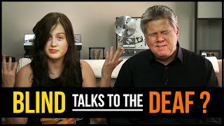 Download How Do A Blind Person & A Deaf Person Communicate? (with Rikki Poynter) Video