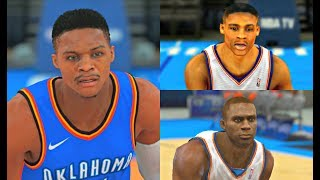 Download Russell Westbrook from NBA 2K9 to NBA 2K18! #OKC #PS4 Video