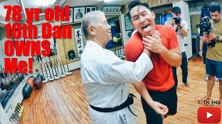 Download 78yr Old 10th Dan Karate Owns me! | Okinawa Part 1 | Eden Ang Video