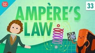 Download Ampère's Law: Crash Course Physics #33 Video