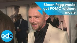 Download Simon Pegg would get FOMO without Mission: Impossible Video