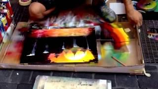Download Pelukis Jalanan, Karya Lukisan Harga Milyaran Rupiah, Skill,Spray Paint Video