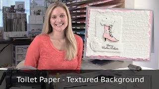 Download Toilet Paper Background and Clay Mold Flowers Video