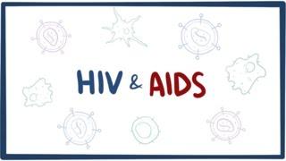 Download HIV & AIDS - signs, symptoms, transmission, causes & pathology Video