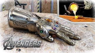 Download Casting REAL BRONZE THANOS Infinity Gauntlet - (Avengers: Infinity War) Video