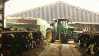 Download Busy Stock Farm. Deere, Manitou and Lorry! Video