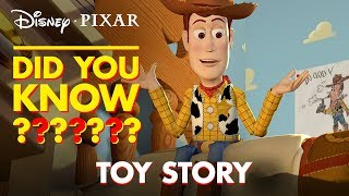 Download Toy Story Secrets & Easter Eggs | Pixar Did You Know? by Disney•Pixar Video