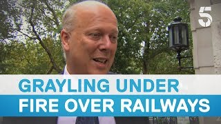 Download Britain's railway service given damning review after summer chaos – 5 News Video
