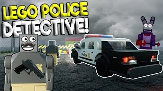 Download LEGO POLICE DETECTIVE & FNAF MYSTERY! - Brick Rigs Roleplay Gameplay - Lego Police Chase Video