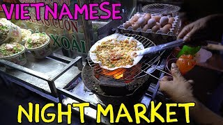 Download Vietnamese PIZZA! Mekong River Night Market in Can Tho VIETNAM Video