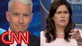 Download Anderson Cooper mocks Sarah Sanders' 'transparent' legacy Video