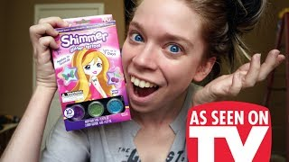 Download SHIMMER GLITTER TATTOOS- DOES THIS THING REALLY WORK? Video