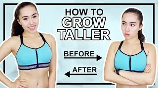 Download HOW TO GROW TALLER | 7 Minute Stretching Routine Video