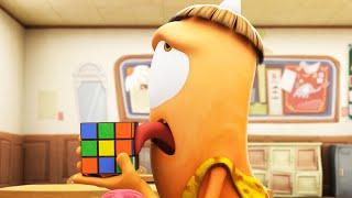 Download Spookiz | Licking a Rubik's Cube | 스푸키즈 | Cartoon for Children | Funny Videos Video