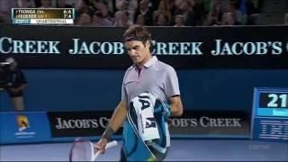 Download R.Federer Vs J.W.Tsonga Australian Open 2013 QF Video